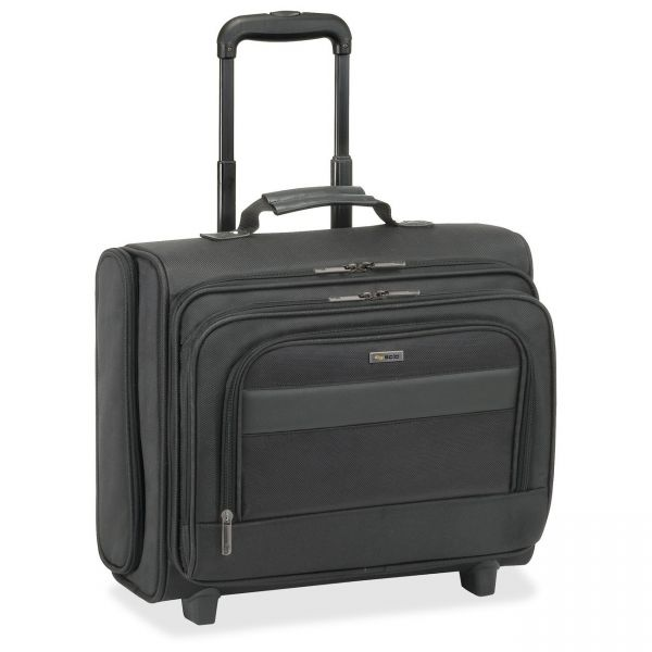 """Solo Classic Carrying Case (Roller) for 15.6"""" Notebook - Black"""