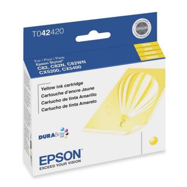 Epson T042420 Yellow Ink Cartridge