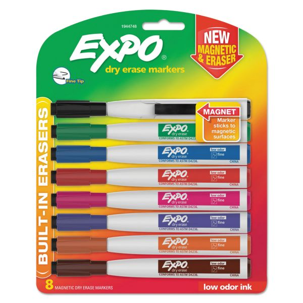 EXPO Magnetic Dry Erase Markers