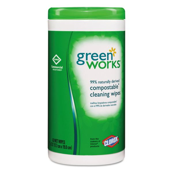 Green Works Biodegradable Cleaning Wipes