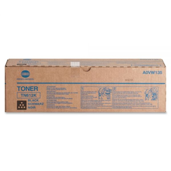 Konica Minolta TN-612K Black Toner Cartridge