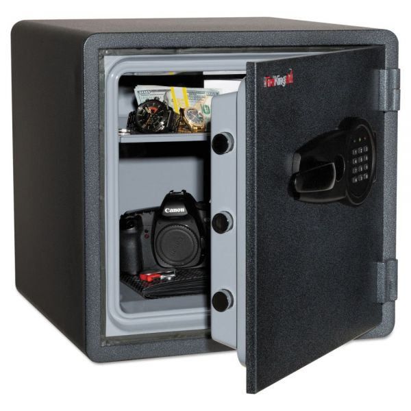 FireKing One Hour Fire and Water Safe with Electronic Lock, 3.66 cu. ft., Graphite