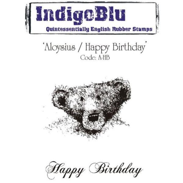 """IndigoBlu Cling Mounted Stamp 5'X7"""""""
