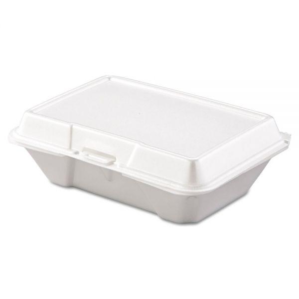 Dart Carryout Food Container, Foam, 1-Comp, 9 3/10 x 6 2/5 x 2 9/10, 200/Carton