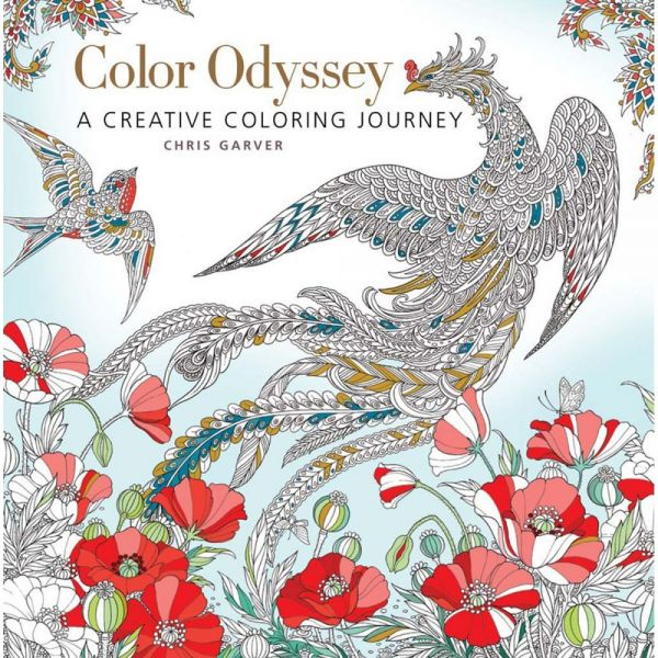 Sterling Publishing: Color Odyssey Coloring Book
