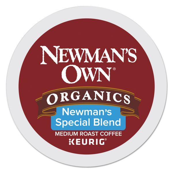 Newman's Own Organics Newman's Own Special Blend, Extra Bold, Medium Roast K-Cups, 96/Carton