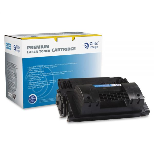 Elite Image Remanufactured Toner Cartridge - Alternative for HP (81X) - Black