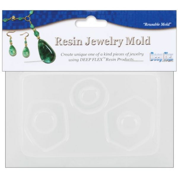 "Resin Jewelry Mold 3.5""X4.5"""