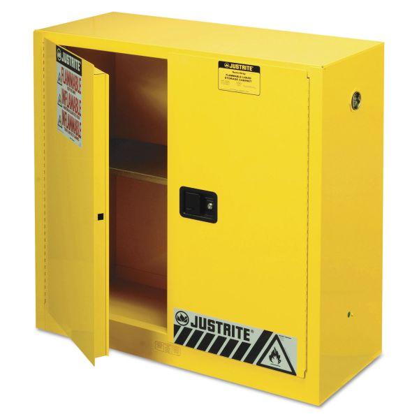 Justrite Flammable Liquid Cabinet
