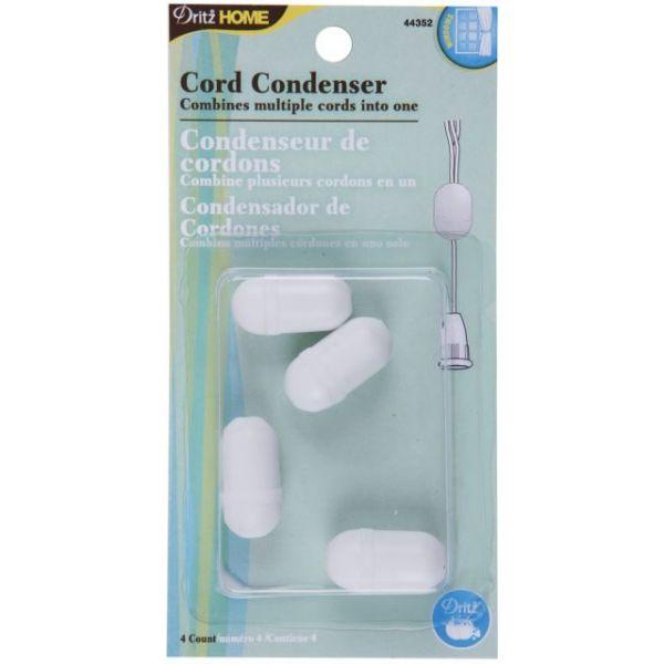 """Cord Condensers 1""""X1/2"""" 4/Pkg"""