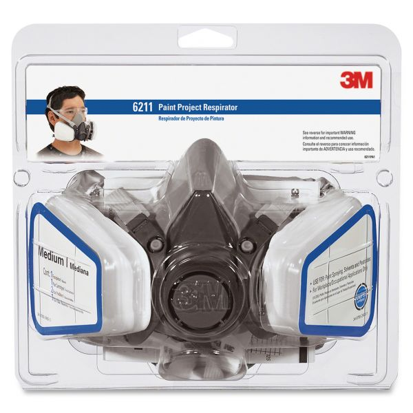 3M Half Fpiece Paint Spray/Pesticide Respirator
