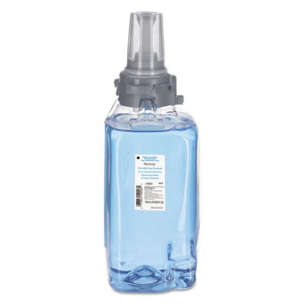 PROVON Ultra Mild Foam Handwash, Fresh Scent, 1250 mL Refill, 3/Carton