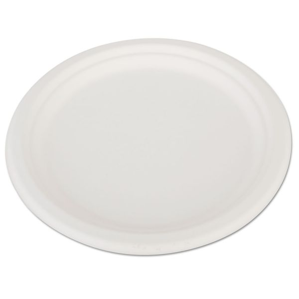 "SCT Heavyweight 10"" Bagasse Plates"