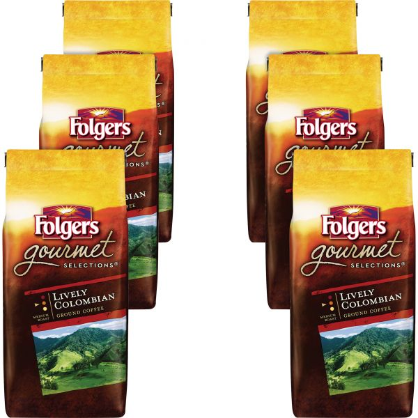 Folgers Gourmet Selections Ground Coffee (5/8 lb)