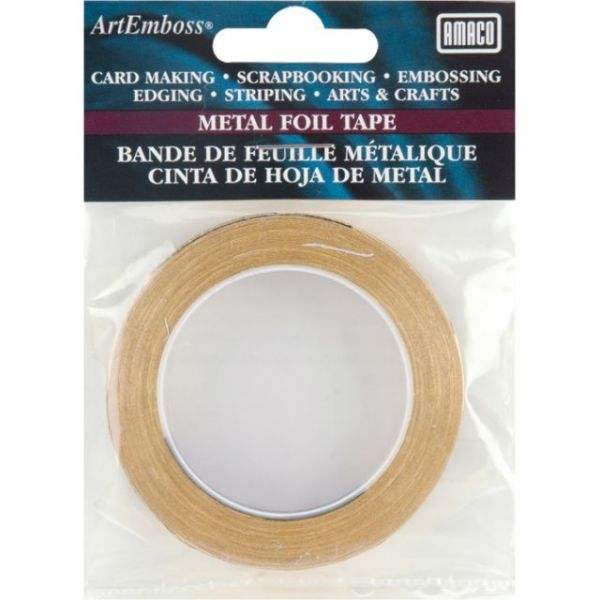 "ArtEmboss Metal Foil Tape .25""X16'"