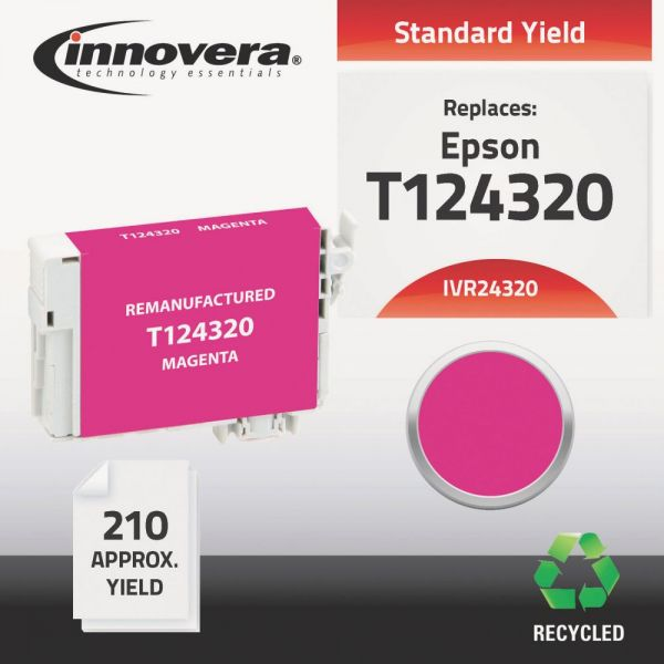 Innovera Remanufactured Epson 124 (T124320) Ink Cartridge