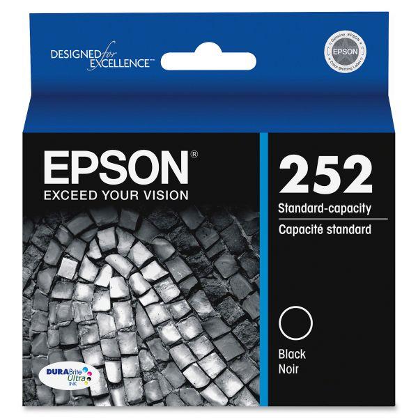 Epson 252 DURABrite Ultra Black Ink Cartridge (T252120)