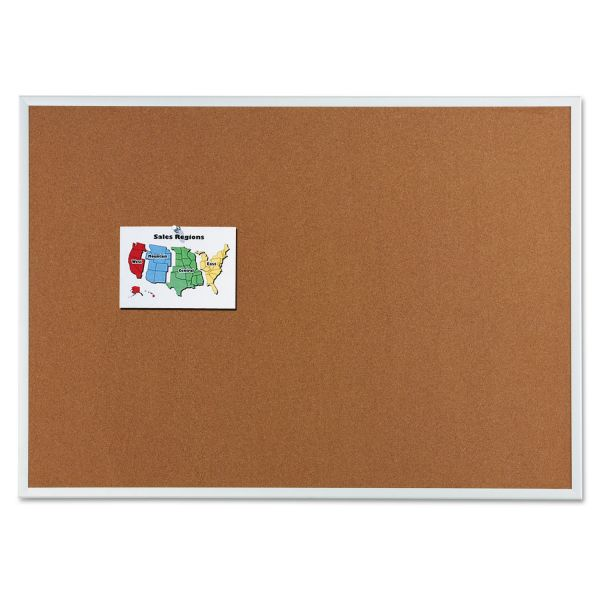 Quartet Cork Bulletin Boards with Brackets