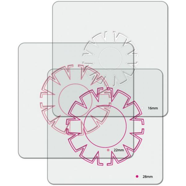 i-top Topper Templates 3/Pkg