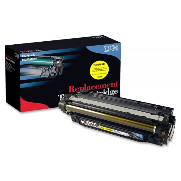IBM Remanufactured HP CE252A Yellow Toner Cartridge