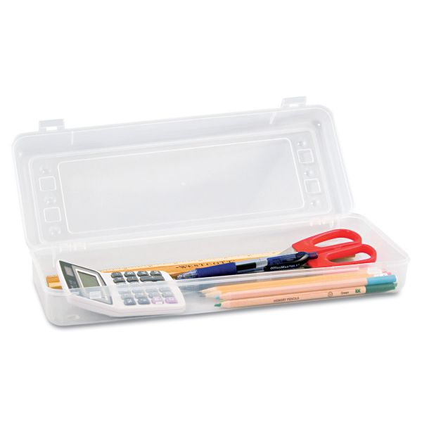 Innovative Storage Designs Stretch Snap Shut Pencil Box