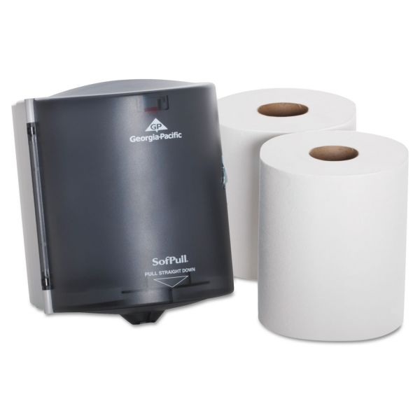 SofPull Center Pull Paper Towel Dispenser & Towel Roll Kit