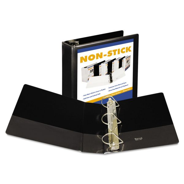 "Samsill Non-Stick 4"" 3-Ring View Binder"