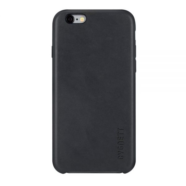 Cygnett UrbanWrap Case for iPhone 6s Plus & 6 Plus - Black Leather