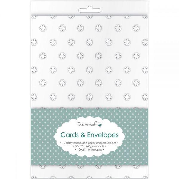 "Dovecraft Cards W/Envelopes 5""X7"" 10/Pkg"