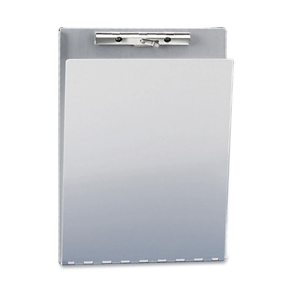 Saunders Aluminum Clipboard with Privacy Cover