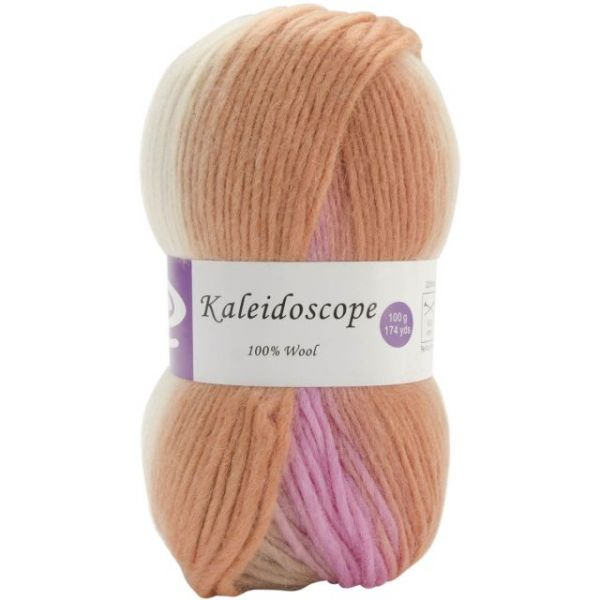 Elegant Kaleidoscope Yarn - Cheesecake