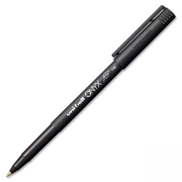 Uni-Ball Onyx Rollerball Pens