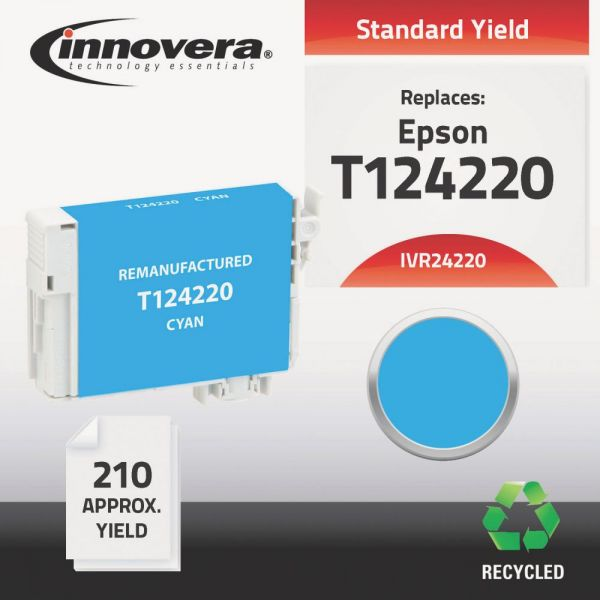 Innovera Remanufactured Epson 124 (T124220) Ink Cartridge