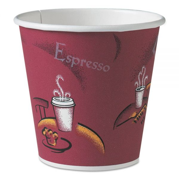 SOLO Cup Company 10 oz Polycoated Paper Coffee Cups