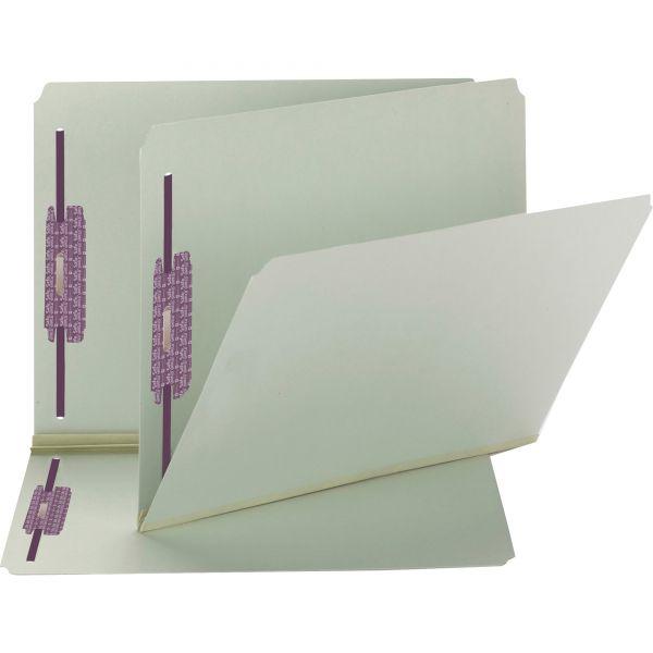 Smead Pressboard File Folders With SafeSHIELD Fasteners