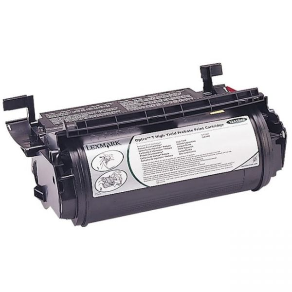 Lexmark 12A5849 Black High Yield Return Program Toner Cartridge