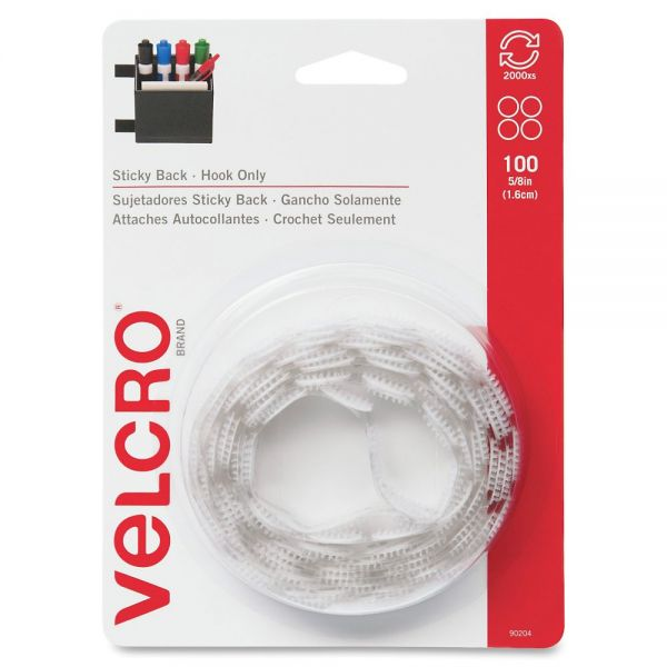 VELCRO Brand VELCRO Brand Sticky Back Round Coin Fasteners