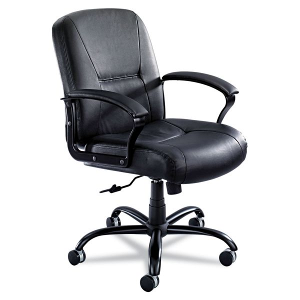 Safco Serenity Series Big And Tall Mid-Back Office Chair