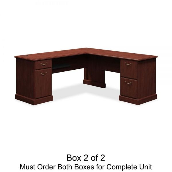 bbf Syndicate L-Desk Box 2 of 2 by Bush Furniture