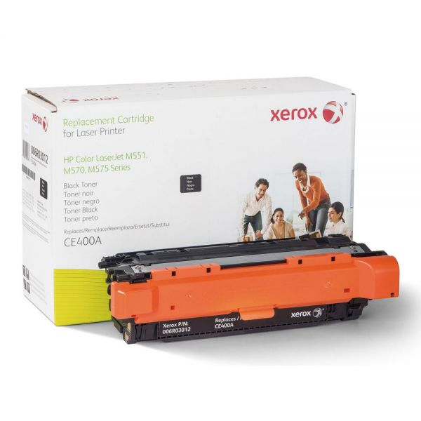 Xerox Remanufactured HP CE400A Toner Cartridge