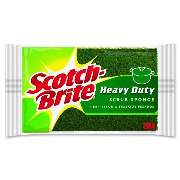 Scotch-Brite -Brite Heavy-Duty Scrub Sponges