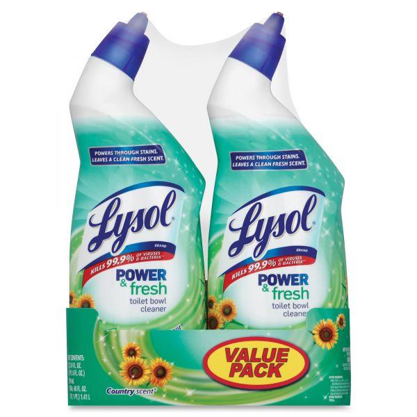 LYSOL Brand Power & Fresh Toilet Bowl Cleaner