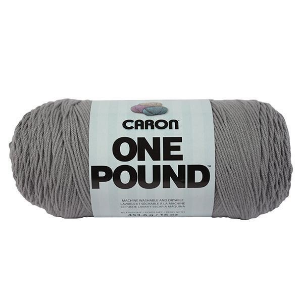 Caron One Pound Yarn - Gray