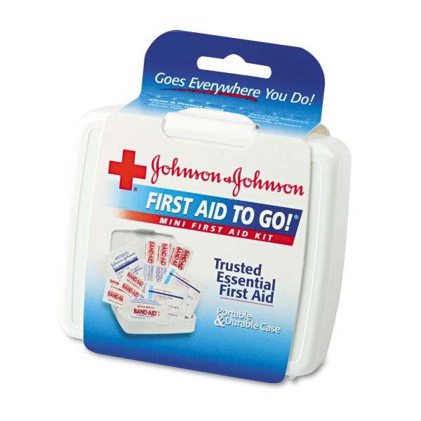 Johnson&Johnson First Aid To Go! Mini First Aid Kit
