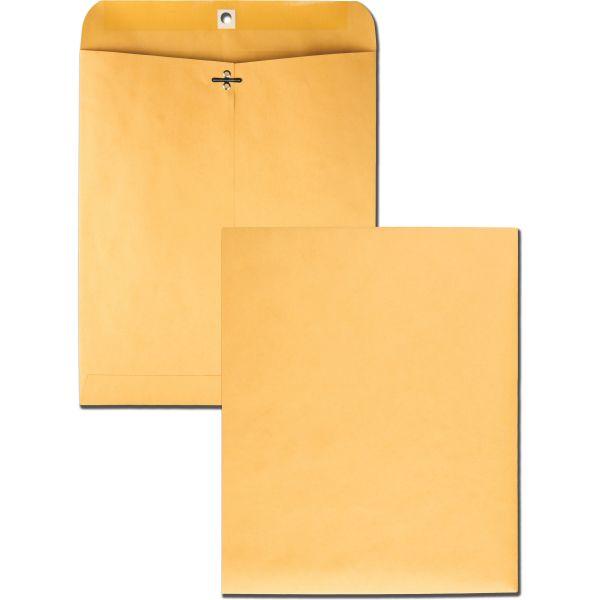 """Quality Park Gummed 10"""" x 12"""" Clasp Envelopes"""