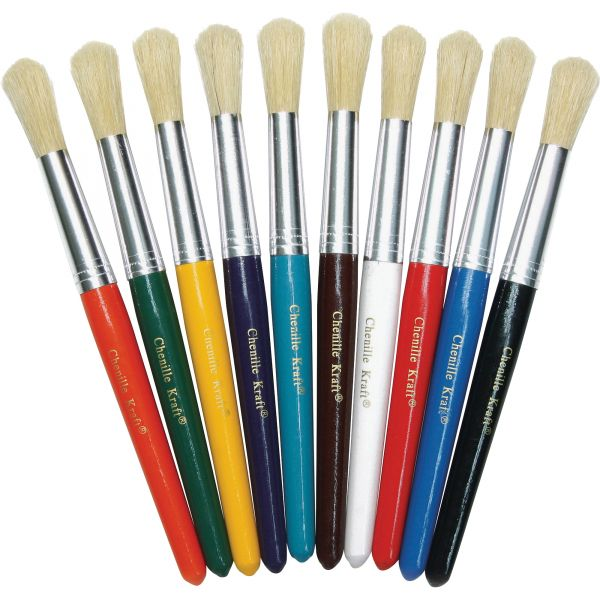 ChenilleKraft Round Paint Brushes