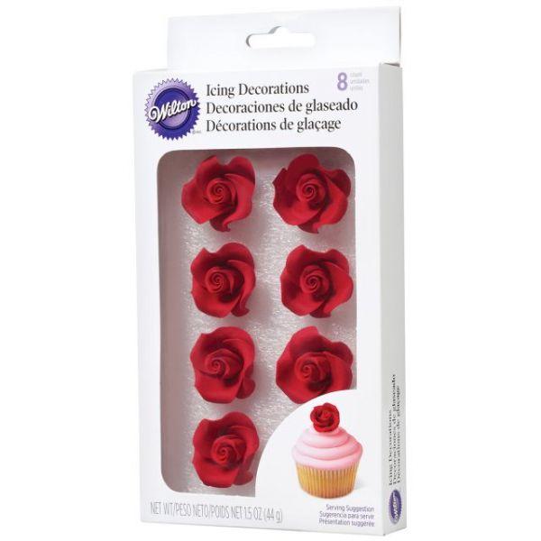 Icing Roses 8/Pkg