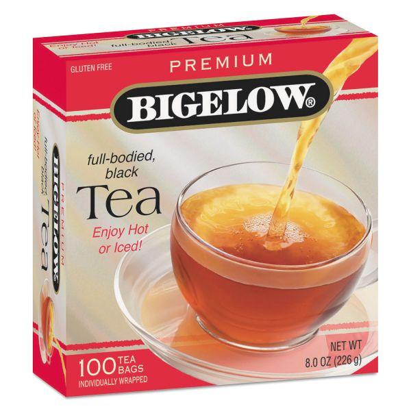 Bigelow Single Flavor Tea, Premium Ceylon, 100 Bags/Box