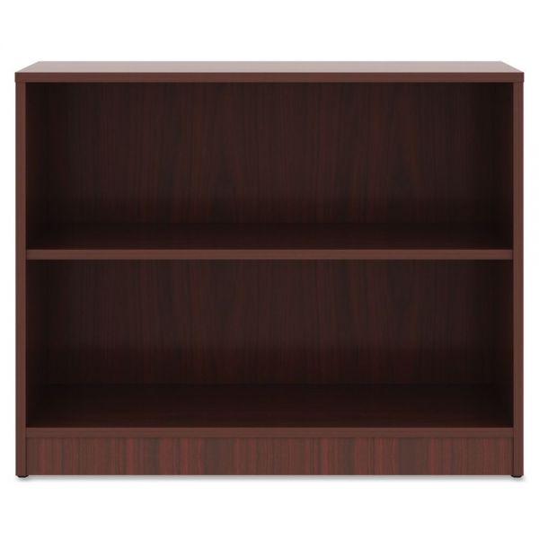 Lorell 2-Shelf Bookcase