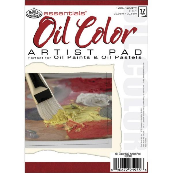 Essentials Oil Color Artist Paper Pad